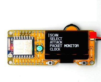 deauther oled wifi hacking gadgets