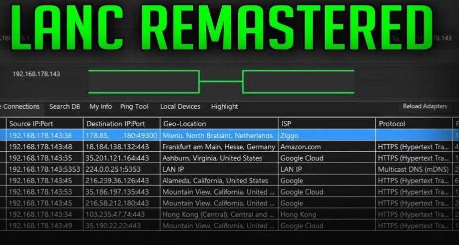 lanc remastered ddos ps4