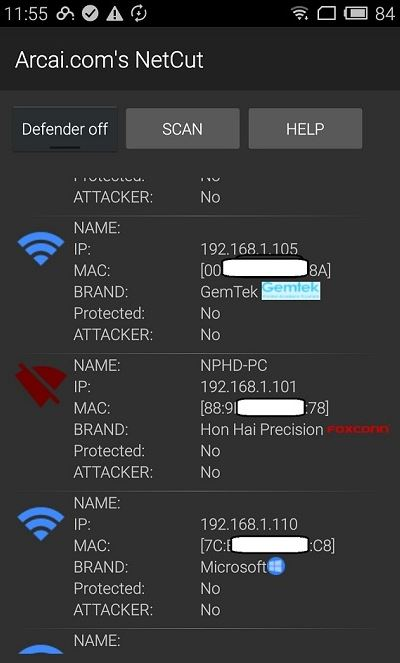 netcut for android boot people offline on wifi network